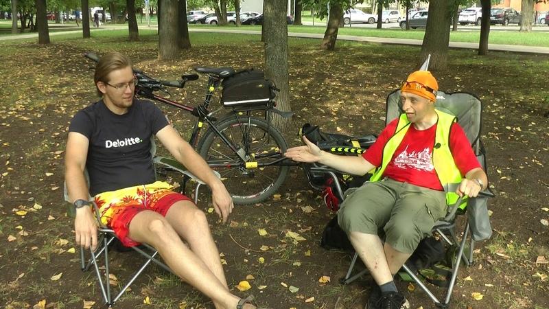 На Соловки на электричках с велоприцепом [Алексей Кузин Ч.1] » Freewka.com - Смотреть онлайн в хорощем качестве