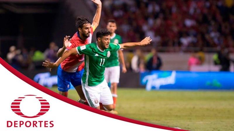Resumen Costa Rica 1 - 1 México | Eliminatoria rumbo a Rusia 2018 | Televisa Deportes