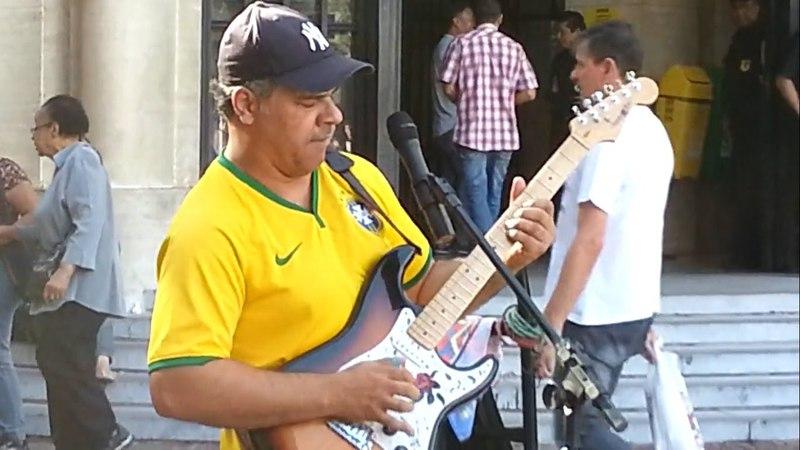 Sultans Of Swing Dire Straits Cover Guitar HD Ao vivo São Paulo 2014 Willian Lee