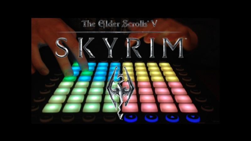 Dragonborn Skyrim OST Orchestral Launchpad Cover