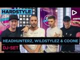 Headhunterz, Wildstylez &amp Coone (B2B DJ-Set) - SLAM!