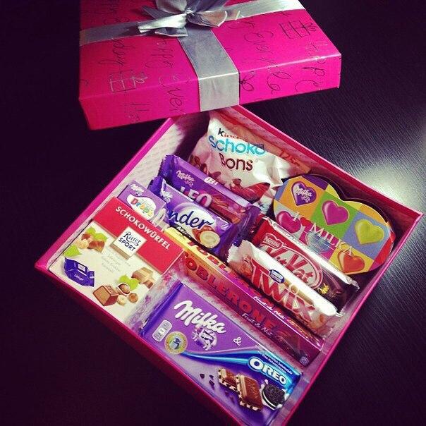 Подарки сладости своими руками