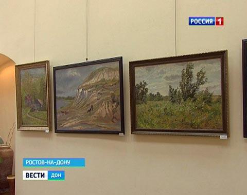 В Ростове в зале Союза художников прошла выставка работ таганрогских художниц