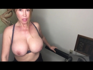 [1431223] Keep me company stroke your cock while I workout in my tiny bra on my treadmill let's work out together [2018-05-03]