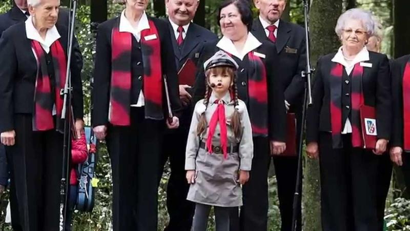 Anna Wieleńska(Mali Giganci) Deszcze niespokojne 71 rocznica bitwy oddziałów AL pod Gruszką