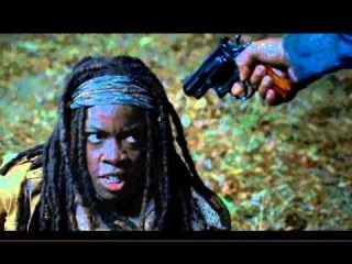 The Walking Dead 4 season (Самый лучший момент за весь сезон)