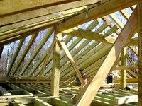 стропильная система четырехскатной крыши - Практическая схемотехника.