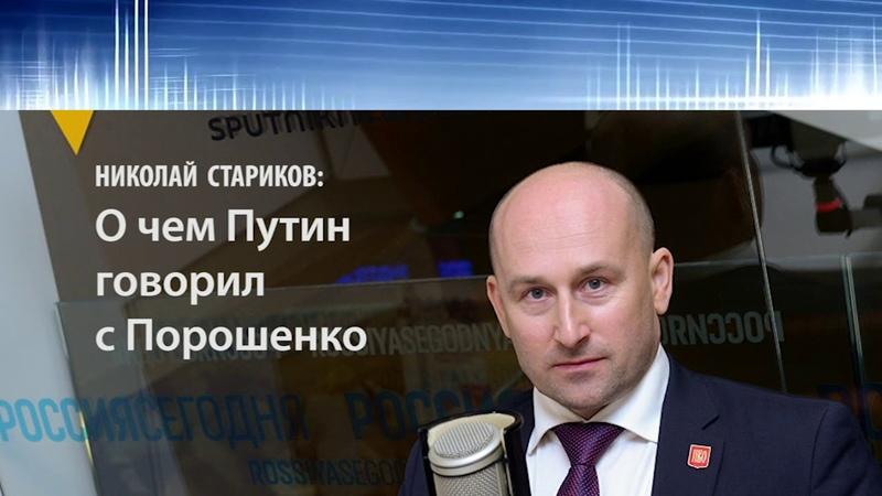Николай Стариков: О чем Путин говорил с Порошенко