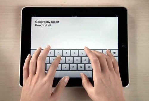Скрытые жесты и функции iPad