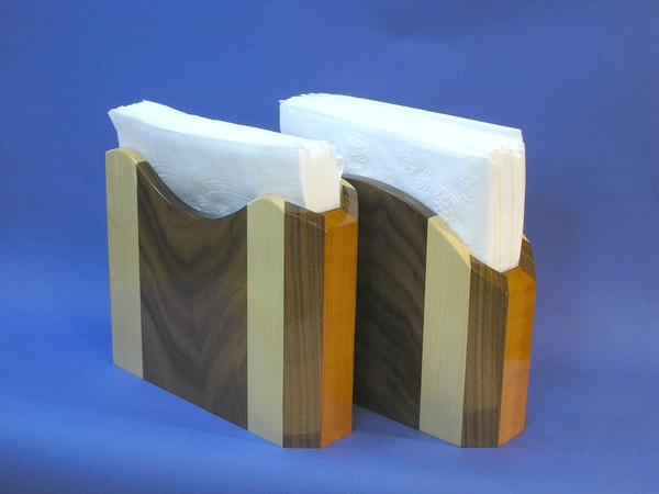 Bird Mouth Joinery - Elegant Napkin Holders