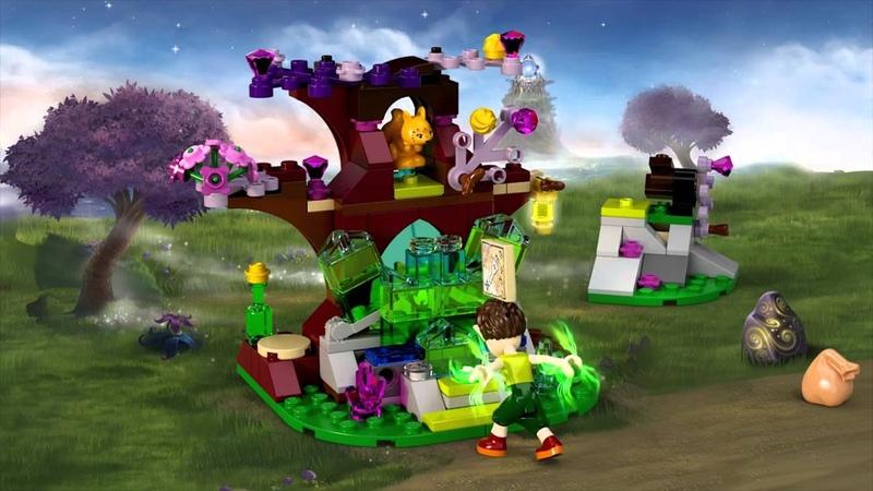 Набор LEGO ELVES 41076 Фарран и кристальная пещера