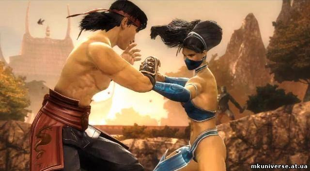 Mortal kombat kitana and liu kang love