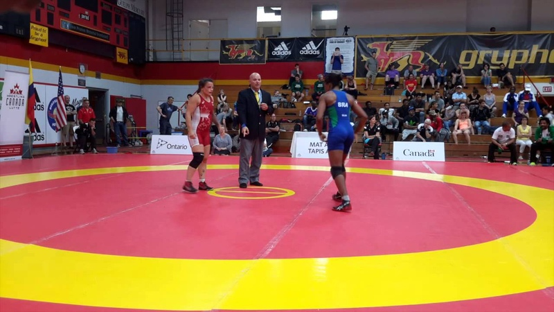 2015 Canada Cup: 58 kg Final Breanne Graham (CAN) vs. Joice Da Silva (BRA)