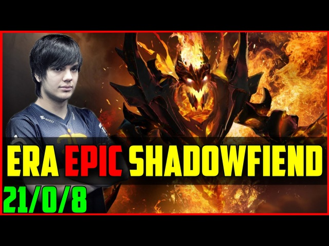 NiP.Era epic Shadow Fiend vs Meepwn'd 21/0/8 @ Major Allstars Dota 2