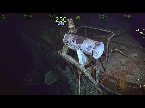 Aircraft Carrier USS Hornet Discovered in Solomon Islands