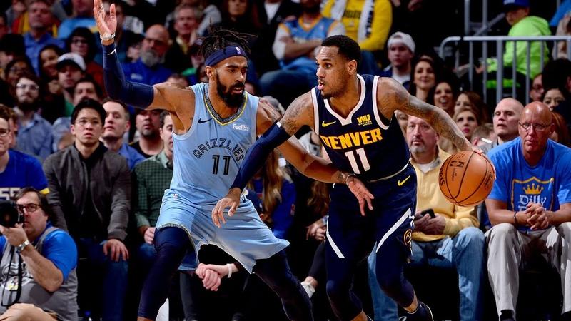 Memphis Grizzlies vs Denver Nuggets Full Highlights - 12/10/18