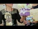 Наш букетик на вручении призов победителям в программе Супер Лото