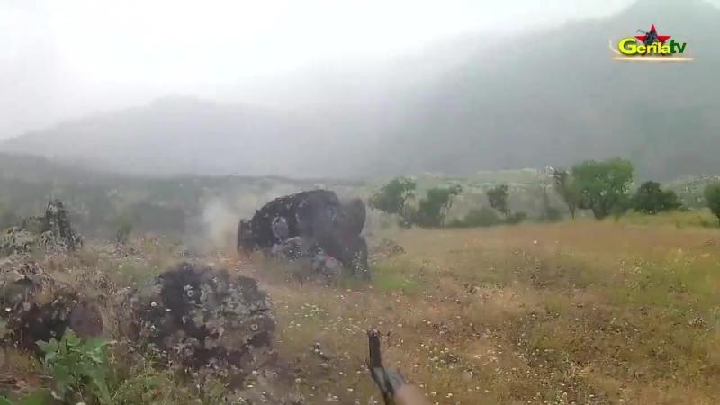 18.Май 2018.Засада на турецких бойцов курдами РПК