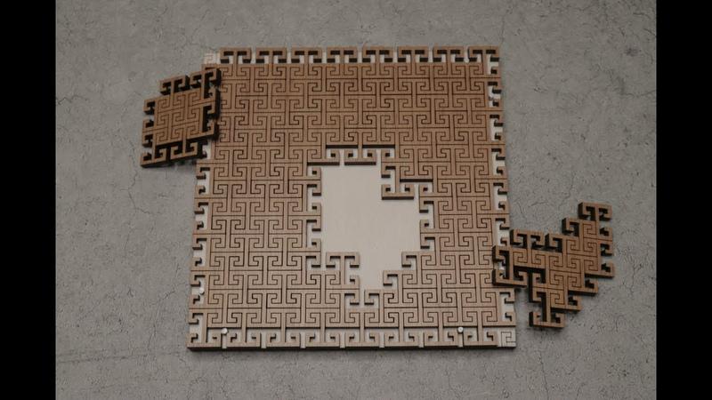 Невероятно сложная головоломка-пазл из дерева (Pento T)
