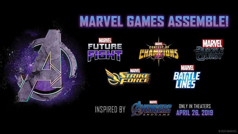 Prepare For the Fight of Your Lives as 'Avengers Endgame' Sweeps Across Marvel Games