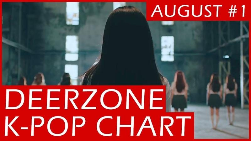 DEERZONE K-POP CHART | AUGUST 2018 | WEEK 1