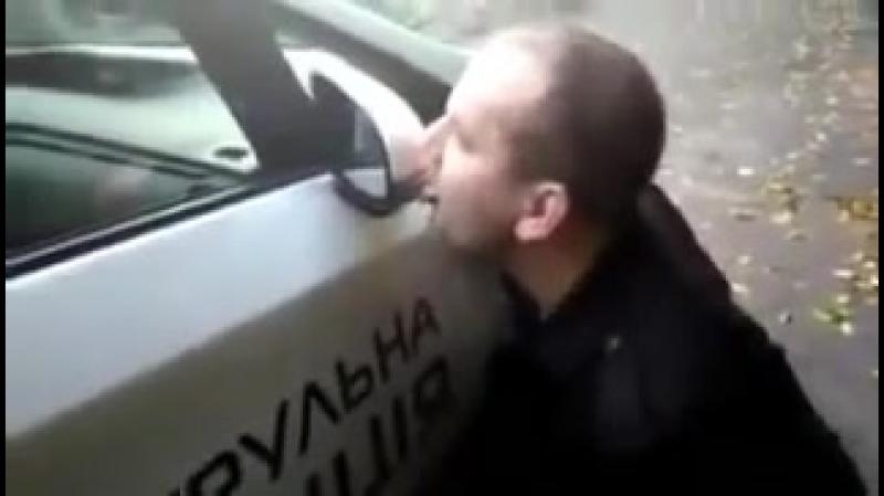 Policjan na służbie