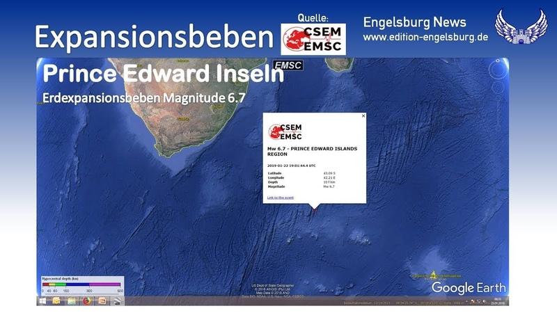 """Engelsburg News für den 23. Januar 2019 mit dem Tagesthema """"Asteroiden und Mondeinschläge"""""""