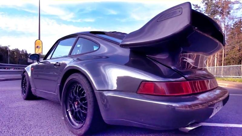 Капот ОТКРЫЛСЯ НА СКОРОСТИ (!!) Оставлять ЧЕРНЫЙ ХРОМ? Проект PORSCHE 911 Turbo (964) Белая Бестия
