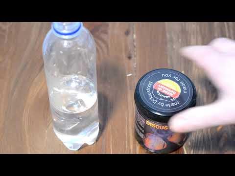 Подготовка воды для нереста