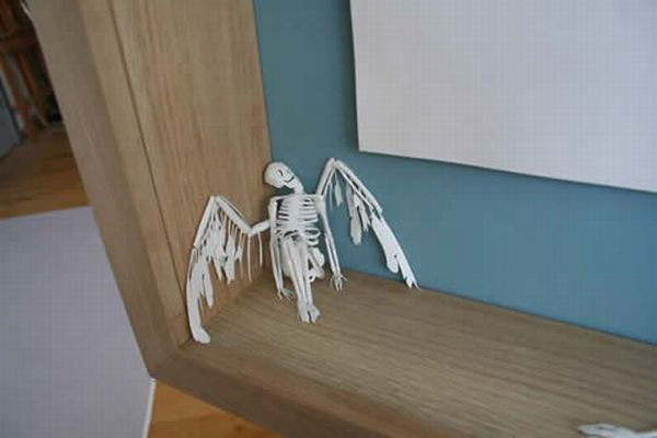 Бумажные скульптуры Peter Callesen TBUrNXQw4MU