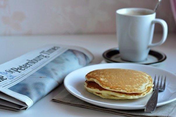 Настоящие американские панкейки (American pancakes)