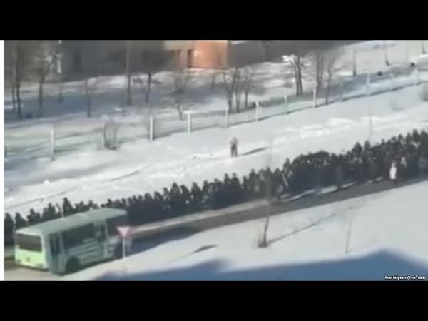 Похороны криминального авторитета в России вызвали скандал