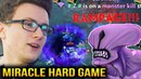 Miracle Tiny vs RAMPAGE Void PRETTY HARD GAME Dota 2