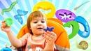 Названия насекомых и Плей До - развивающие Дада игрушки Бьянки