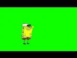 Chroma Key Smug SpongeBob (Just One Bite) - Green Screen.mp4