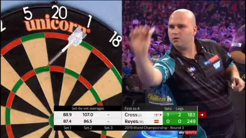 2019 World Darts Championship Round 3 Cross vs Reyes