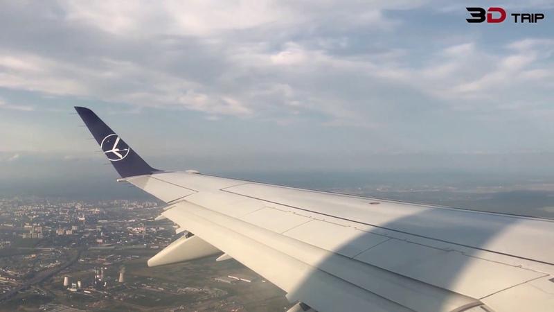 Flight LO686: Sankt Petersburg - Warszawa. 2018-08-18