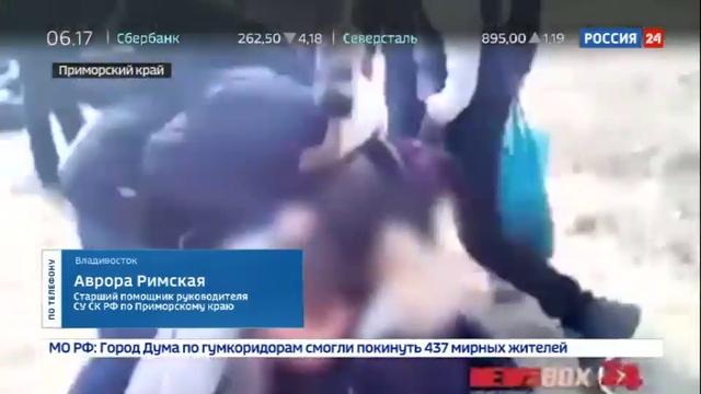 Новости на Россия 24 Уголовное дело возбуждено по факту избиения двух школьников в Приморском крае