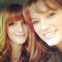 Photo of Bella Thorne & her Mother  Tamara Thorne