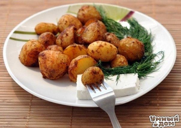 Картофель запеченный с травами Картофель можно есть не часто, готовя его в кожуре и не смешивая с животными белками, а подавая с салатом из сырых овощей. Вкусное постное блюдо. Ингредиенты: Картофель средний 6 шт.; Лук репчатый 1 шт.; Растительное масло 2 ст.л.; Паприка пол ч.л.; Куркума пол ч.л.; «Прованские травы» смесь 1 ч.л. Рецепт приготовления: Помытый картофель разрезаем на 8 долек. Для заправки добавить специи в масло и взбить вилкой. Нарезанный картофель переложить в форму для…