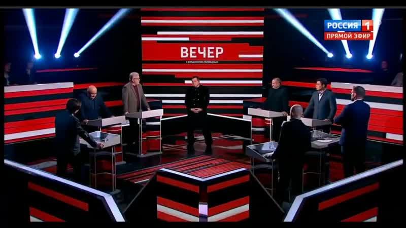 На тв совсем уже ебанулись У Соловьева политолог выдал сцену из комедии за реальное интервью mudakoff sta