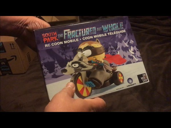 UNBOXING South Park the Fractured But Whole RC Coon Mobile Bundle