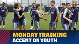 Accent on youth on Monday with Bar