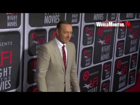 Kevin Spacey arrives at Target presents 'AFI Night At The Movies' Red Carpet