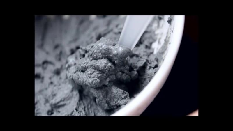 Шпильки: Угольная маска для лица