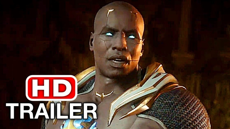 MORTAL KOMBAT 11 Geras Gameplay Trailer (2019) PS4/XBOX ONE/PC