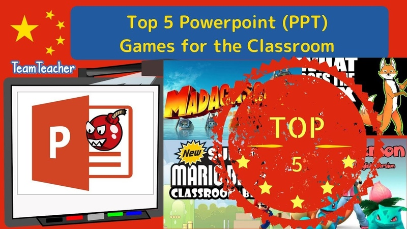 Top 5 Powerpoint (PPT) Games for the Classroom