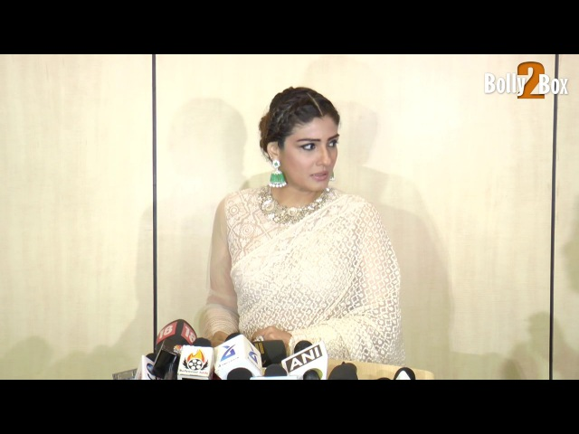 Raveena Tandon At Dadasaheb Phalke Award 2017