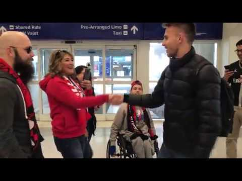 Bressan Arrives to DFW Airport