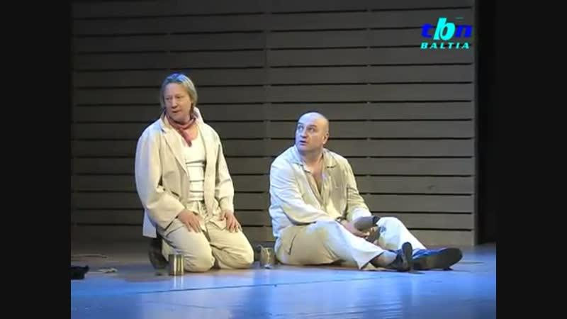 Спектакль Люди и мыши в Нарве (репортаж TBN Baltia) интервью Александра Балуева и Дмитрия Харатьяна
